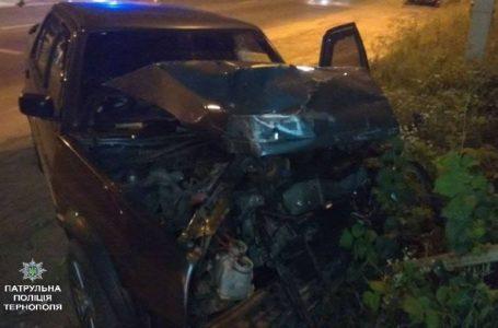 ДТП через п'яного водія: у Тернополі зіткнулося два автомобілі