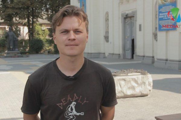 """Тарас Циклиняк: """"Тернопіль дає мені життєву енергію"""" (Відео)"""