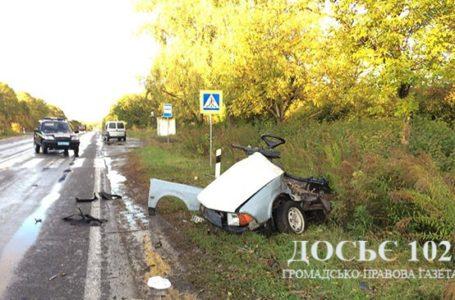 Троє загиблих із «Москвича», який зіткнувся з позашляховиком (Фото)
