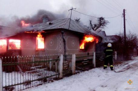 Через несправний димар в Ігровиці згорів житловий будинок