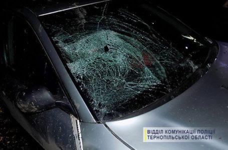 На Збаражчині водій збив двох пішоходів та втік з місця пригоди