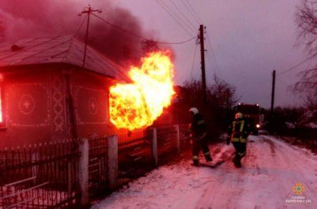 На Кременеччині у вогні згоріли жінка та її син