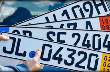Тернопільські патрульні розшукали викрадені номерні знаки «євроблях»