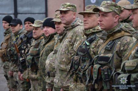 Тридцять поліціантів Тернопільщини поїхали у чергове відрядження на Донбас
