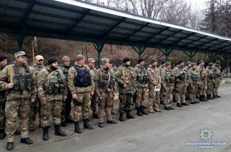 Додому з АТО повернулися військовослужбовці роти «Тернопіль»