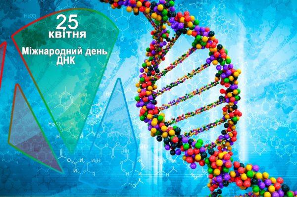 25 квітня – Міжнародний День ДНК