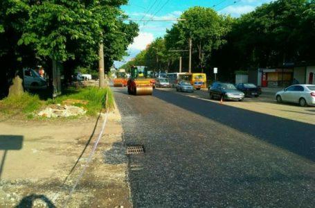 У Тернополі ремонт дороги на Злуки завершать до кінця тижня