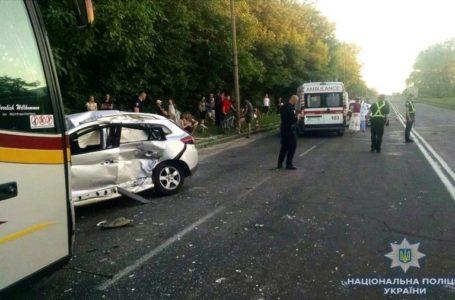 Водій автобуса з Тернополя потрапив у страшну аварію (Фото)