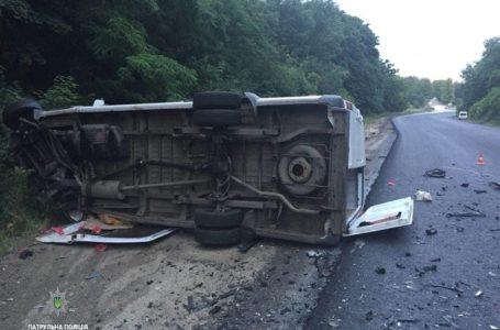 На Тернопільщині водій заснула за кермом і в'їхала у зустрічне авто