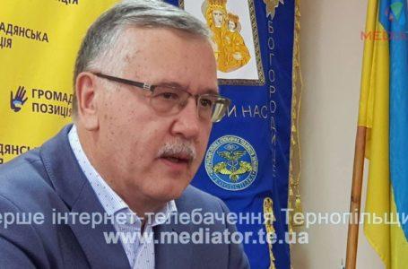 """Анатолій Гриценко відповідає на запитання тернополян у програмі """"Позиція"""" (Наживо)"""