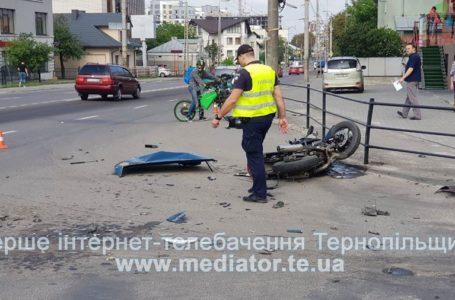 Перехрестя, де сьогодні травмувався мотоцикліст, водії називають «чорним» (Відео)