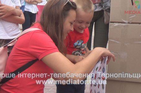 У картонному лабіринті тернополяни вчились виживати закордоном (Відео)