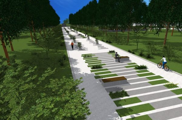 У Тернополі реконструюють Старий Парк