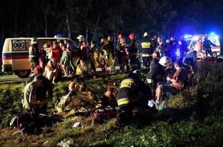 У Польщі автобус злетів в обрив. Загинув тернополянин (Фото)