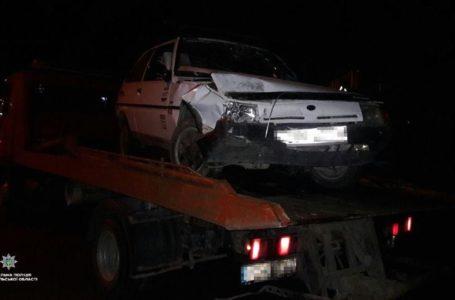 У Тернополі п'яний водій виїхав на зустрічну смугу і спричинив ДТП