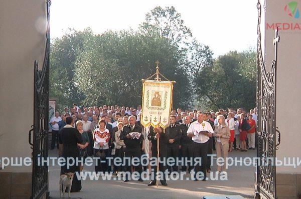 Лісівники Тернопільщини професійне свято відзначили молитвою у Зарваниці (Відео)