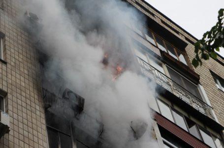 У Тернополі через пожежу евакуювали мешканців багатоповерхівки