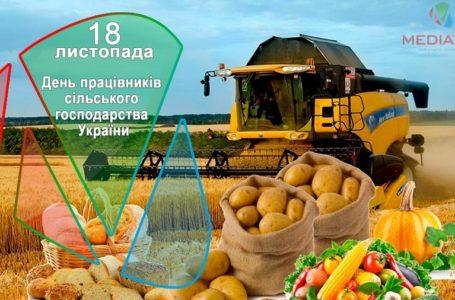 18 листопада – День працівників сільського господарства України