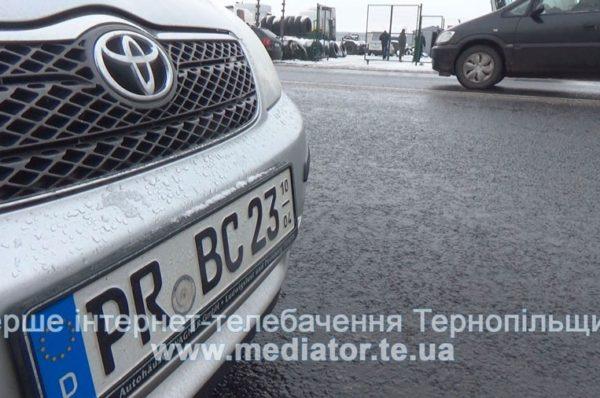 На Тернопільщині розмитнили близько 1500 «євроблях»