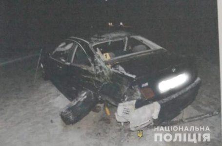 На Тернопільщині іномарка в'їхала в рейсовий автобус, є постраждалий