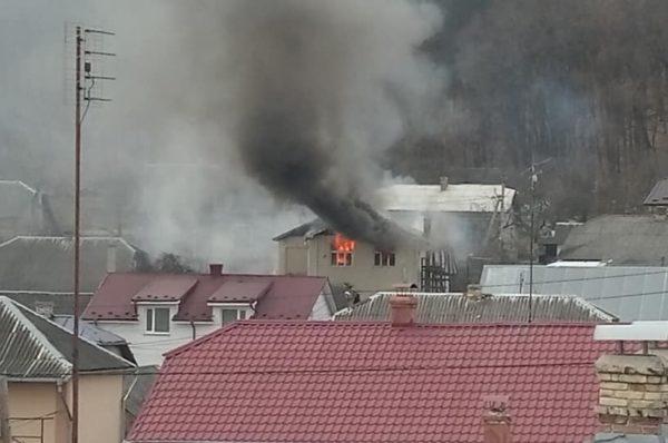 У Теребовлі поки господарі були на роботі, їхня домівка згоріла