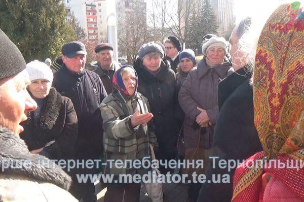 """Колишні працівники радгоспу """"Тернопільський"""" 25 років намагаються повернути паї (Відео)"""