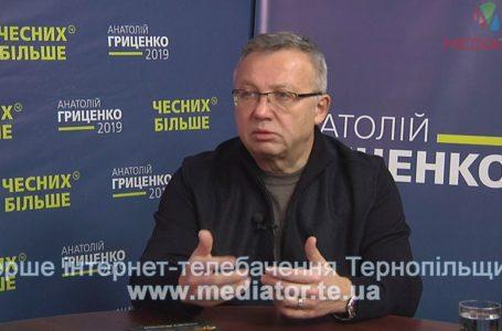 Кандидат на пост голови Нацбанку у команді Анатолія Гриценка відповідає на питання тернополян (Наживо)