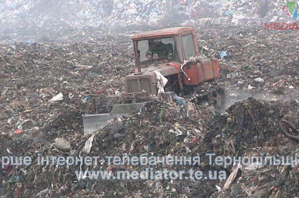 """""""На сміттєзвалищі у Плебанівці горить сміття, яке не пройшло переробку"""", – місцеві активісти (Відео)"""