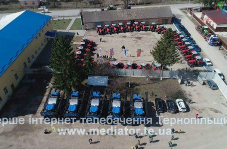 Нові трактори та обрискувачі закупила об'єднана компанія CFG/«МРІЯ» (Відео)