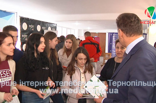 Тернопільська молодь знайомиться із затребуваними в світі професіями (Відео)