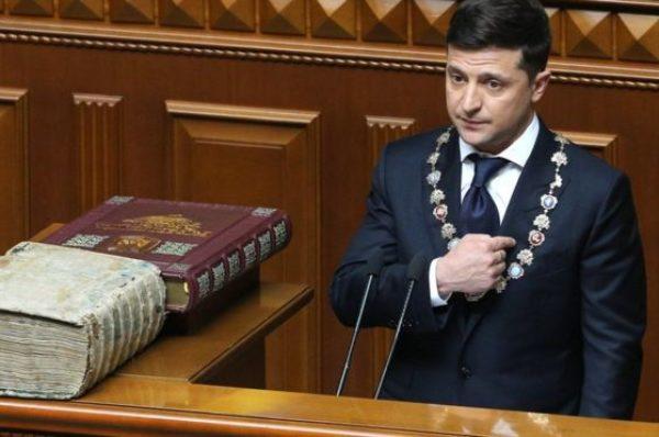 Розпускаю Верховну Раду України, – заява Володимира Зеленського