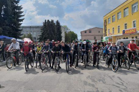 Велопробіг і фестиваль фарб. У Збаражі День міста (Фото)