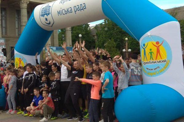 Понад сотня тернополян приєднались до благодійного марафону – біг заради добра