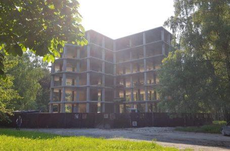 У парку Нацвідродження звели шостий поверх «Вуличної академії» (Фото)