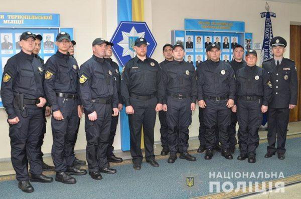 У Тернополі 12 поліцейських присягнули на вірність українському народу (Відео)