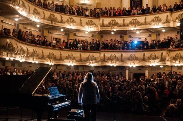 Концерт найшвидшого піаніста світу в Тернополі пройшов з аншлагом (Фото)
