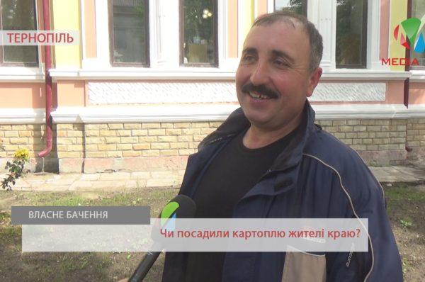 «Свята та негода завадили посадити вчасно», – тернополяни про картоплю (Відео)