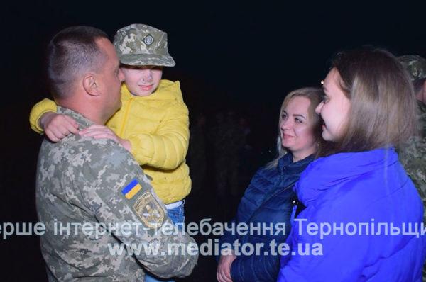 Захисники вдома. У Тернополі емоційно зустрічали військовослужбовців (Відео)