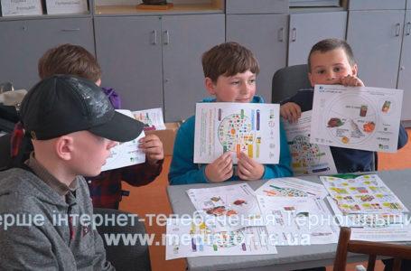 На Тернопільщині дітей вчать  харчуватися здорово (Відео)
