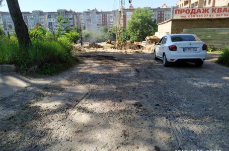 Тернополянин сплатить штраф, бо забруднив дорогу на проспекті Злуки