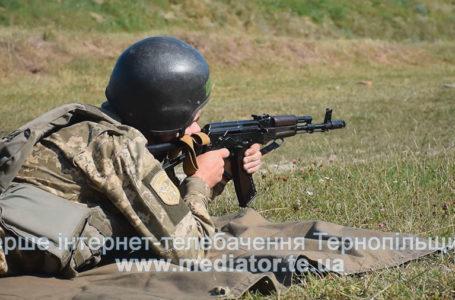 Стріляють, щоб захистити: поблизу Тернополя військові навчання (Відео)
