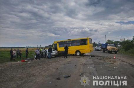 Смертельна ДТП на Тернопільщині: легківка в'їхала у рейсовий автобус (Відео)