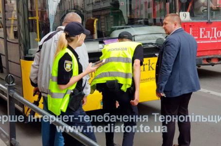 На Руській затори. Автобус збив пішохода (Фото)