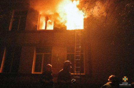 У селі на Тернопільщині згоріла школа: навчання 35-ти учнів перенесли (Відео)