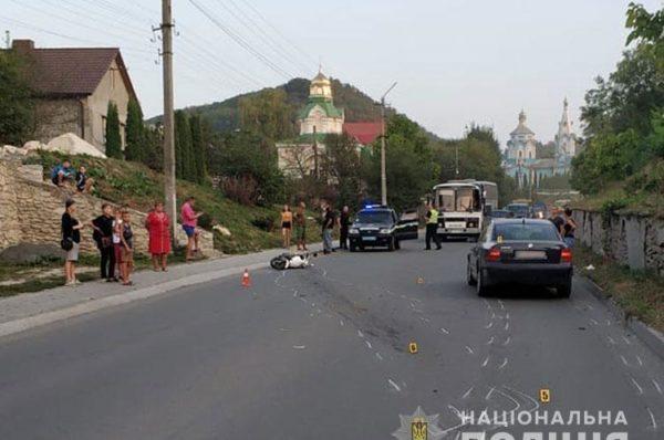 На Тернопільщині у ДТП загинув 61-річний скутерист