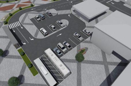 У Тернополі розпочали реконструкцію площі перед залізничним вокзалом. Рух транспорту обмежений (Фото)