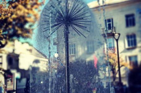 """У Тернополі запрацював оновлений фонтан """"Кульбаба"""" (Відео)"""