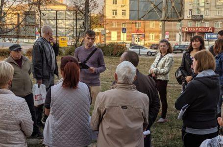 """Тернополяни виступають проти забудови території біля """"Жовтої церкви"""" (Фото)"""