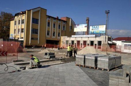 У Тернополі триває реконструкція Привокзальної площі