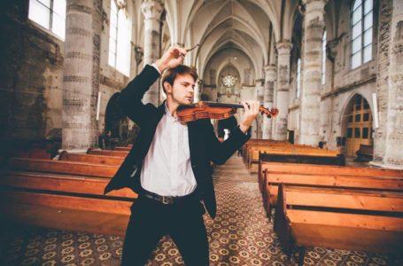 Інструментальна музика – по-сучасному: в Тернополі виступить скрипаль Костянтин Лукинюк